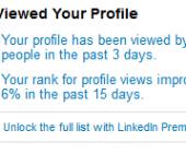 vues profil linkedin