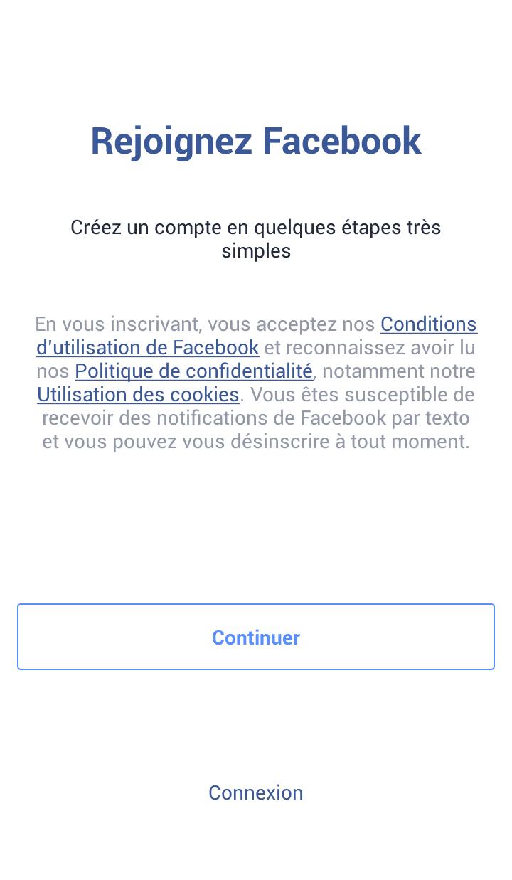 Cr er un compte facebook la m thode facile guide complet for Entreprise facile a creer