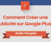 créer une publicité google+