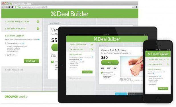 groupon deal builder
