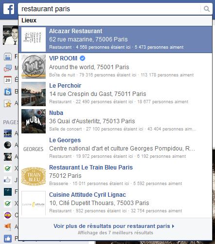moteur facebook