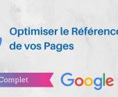 optimiser référencement pages
