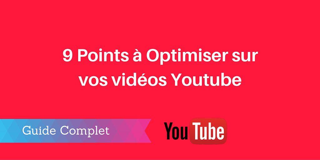 optimiser vidéo youtube