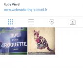 profil instagram