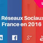 Les Réseaux Sociaux en France en 2016