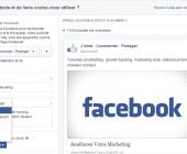 ajouter bouton publication facebook