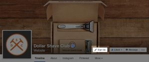 bouton call-to-action page facebook