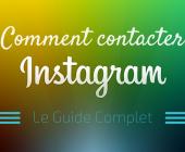 contacter instagram