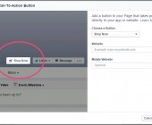 creer call-to-action page facebook