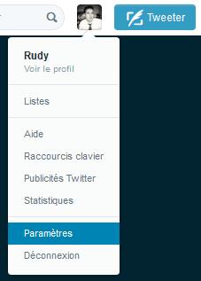 données personnelles twitter