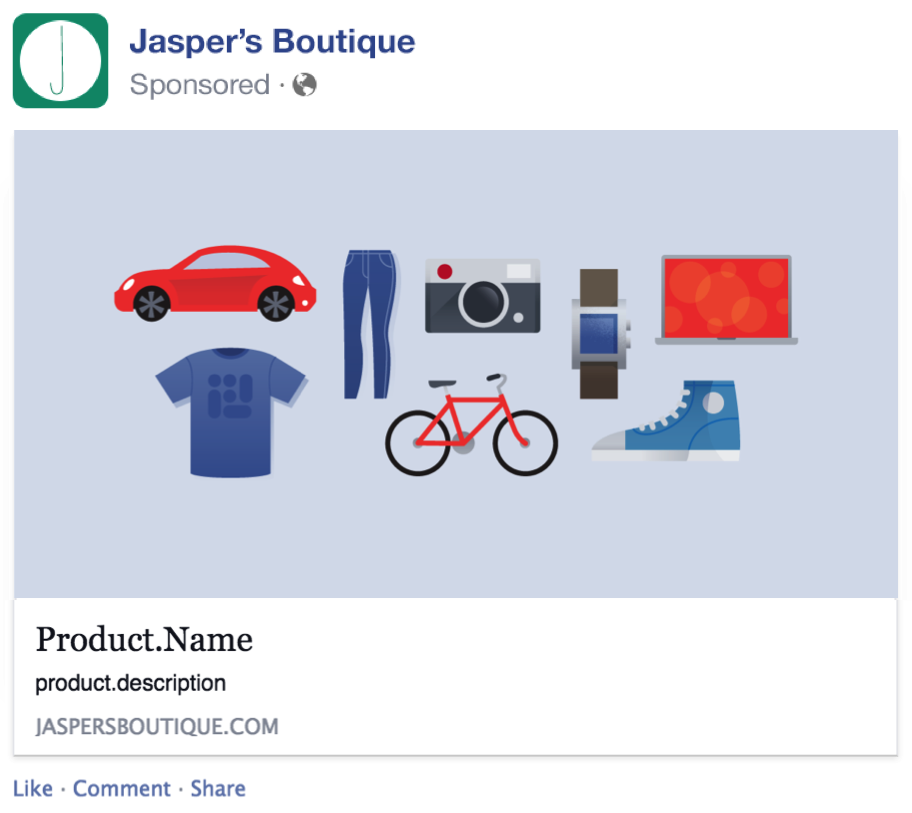 dynamic product ad