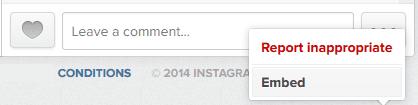 embarquer photo ou vidéo instagram sur un site internet ou un blog