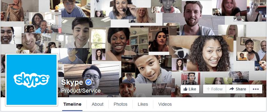 page couverture facebook