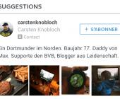 suivre des comptes sur instagram