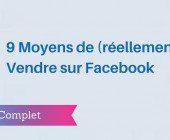 vendre facebook