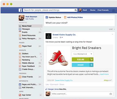 6 tactiques pour vendre sur facebook. Black Bedroom Furniture Sets. Home Design Ideas