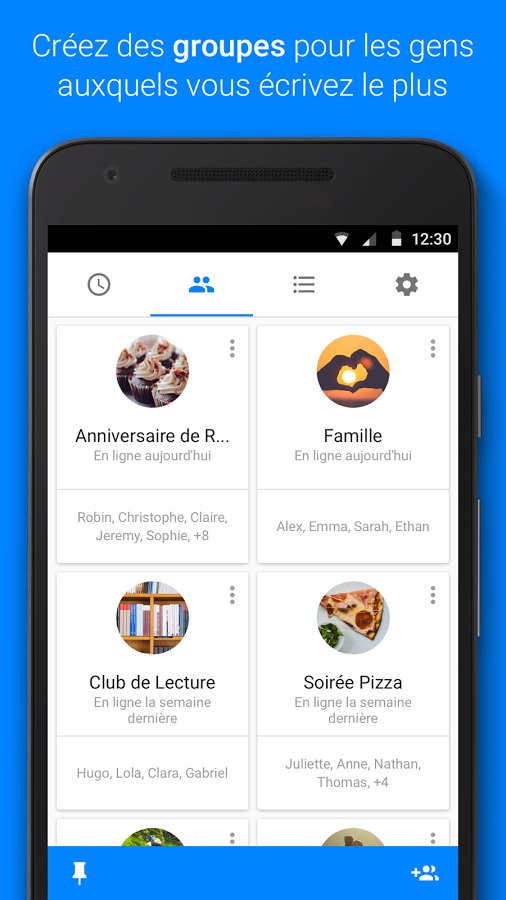 application facebook messenger