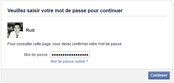 compte facebook pirater
