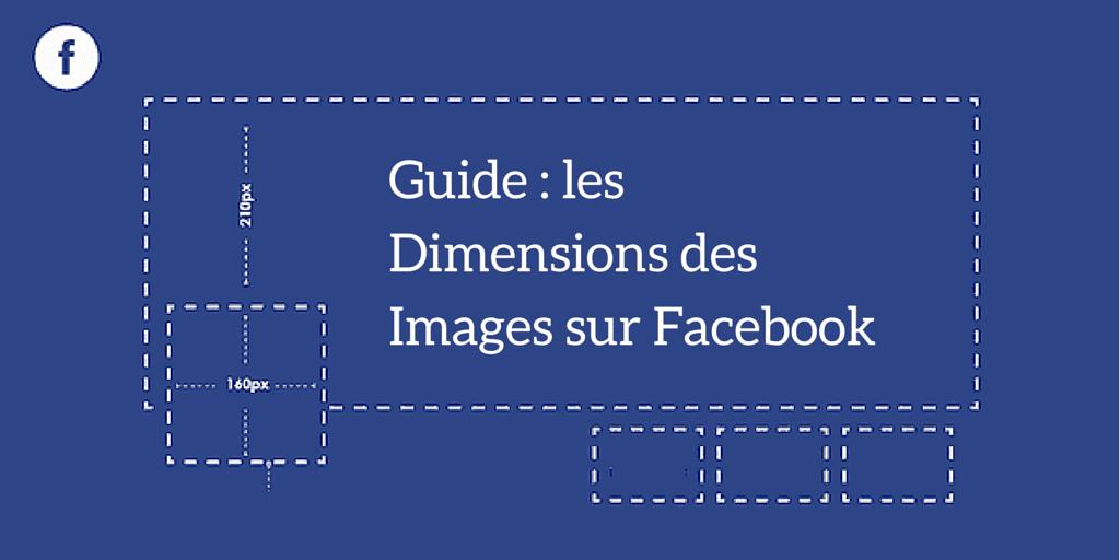 dimensions des images sur Facebook