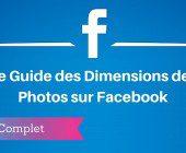 dimensions photos facebook