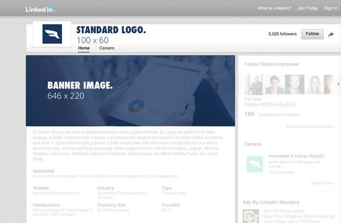 dimensions photos profil linkedin