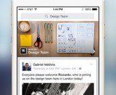 application facebook at work