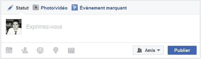 fonctionnalité facebook