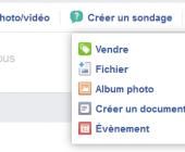 fonctionnalités groupes facebook