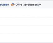 fonctionnalités pages facebook