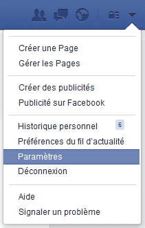 parametres securite facebook