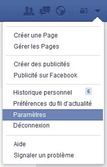 parametres securite facebook