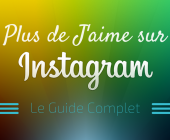 plus de j'aime sur instagram