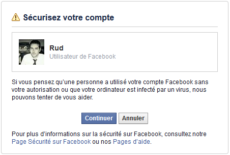 profil facebook pirater