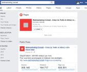 recherche facebook