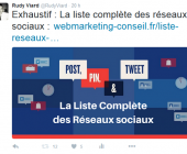tweet optimisé