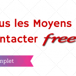 Comment Contacter Free ?
