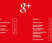 raccourcis clavier google plus