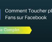 toucher fans facebook