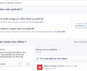 annonce carrousel facebook