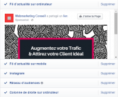 annonce facebook