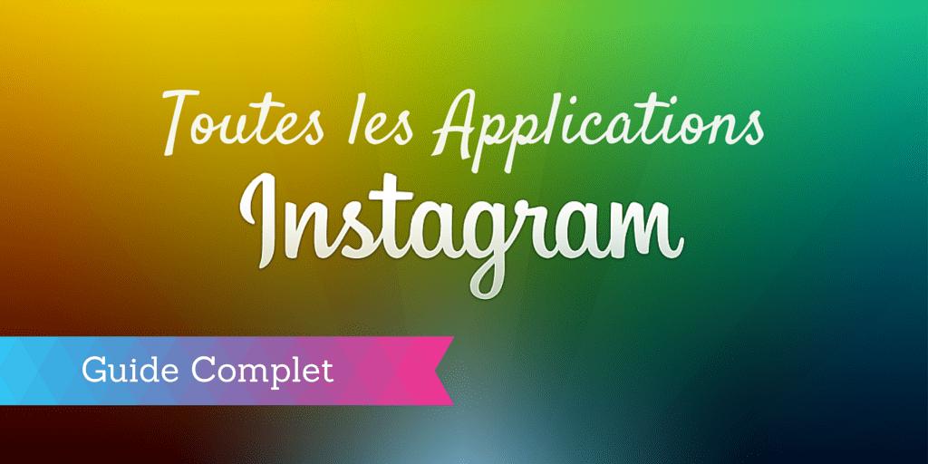applications instagram