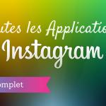 Les Applications Instagram