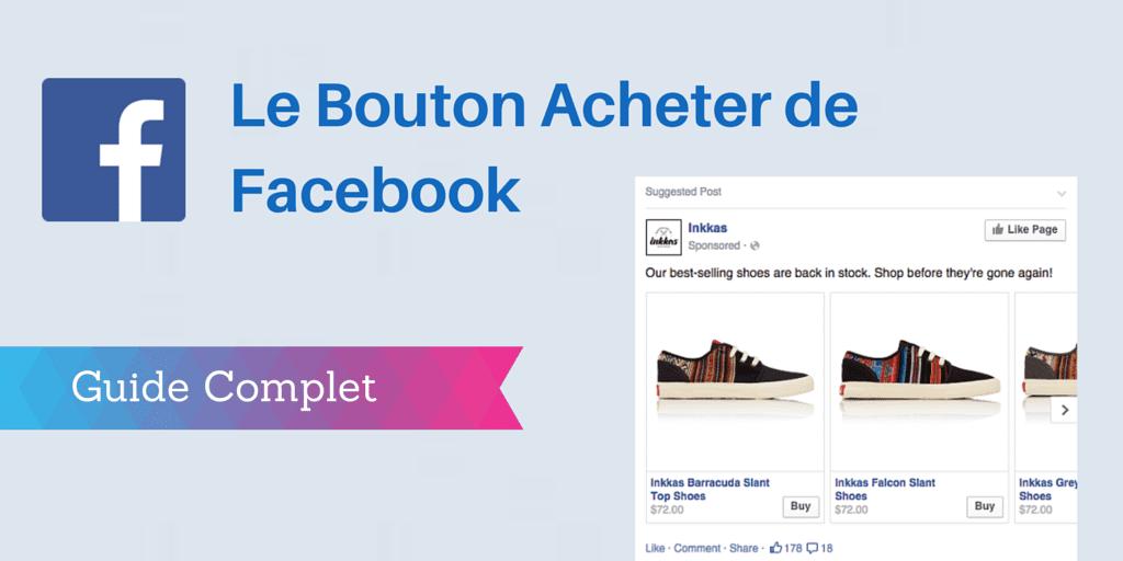 bouton acheter facebook