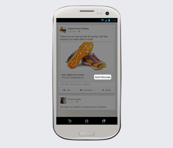 facebook messenger entreprises