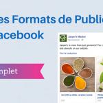 Les Formats de Publicité sur Facebook