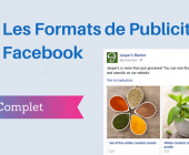 formats -publicité facebook