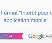 intérêt pour une application mobile adwords