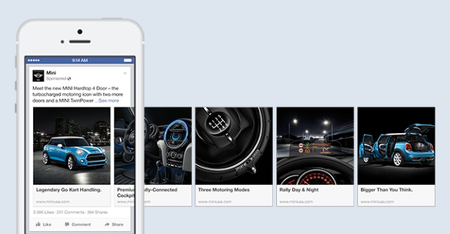 multi products facebook