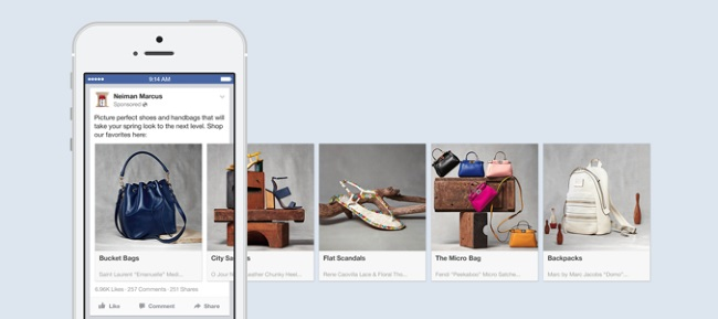 multiproduct facebook