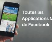 applications mobiles facebook